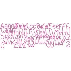 Kidzzz autocollant alphabet kiz 1005