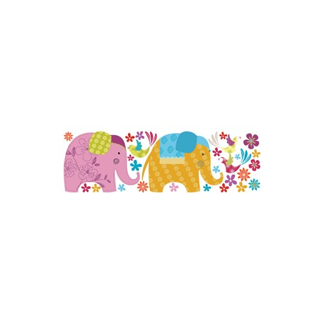 Kidzzz autocollant elephant kiz 1003